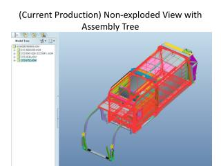 (Current Production) Non-exploded View with Assembly Tree