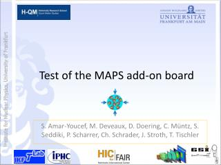 Test  of the  MAPS  add -on  board