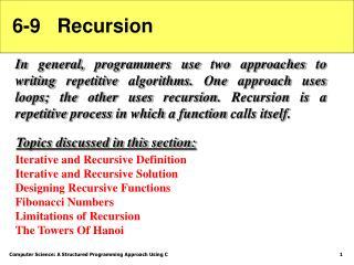 6-9   Recursion