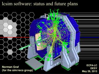 lcsim  software: status and future plans
