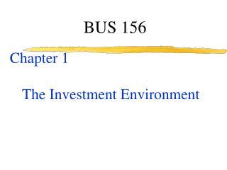BUS 156