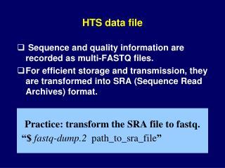 HTS data file