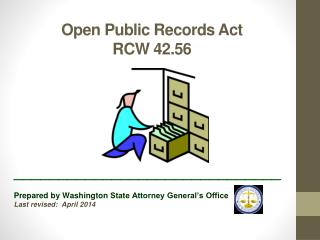 Open Public Records Act RCW 42.56