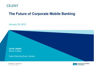 The Future of Corporate Mobile Banking