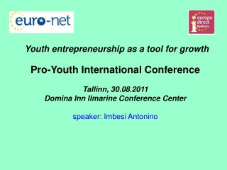 youth self-entrepreneurship in Italy Law n.185/2000