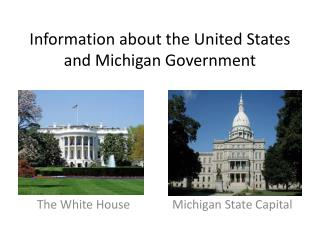 Government Information about the United States and Michigan Government