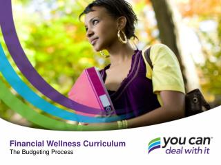 Financial Wellness Curriculum The Budgeting Process