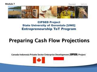 Preparing Cash Flow Projections
