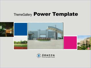 ThemeGallery Power Template