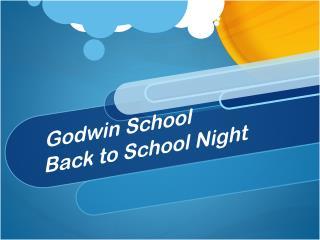 Godwin School Back to School Night