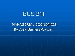BUS 211