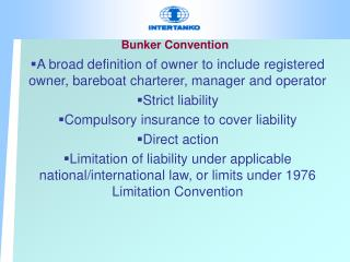 Bunker Convention