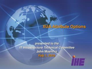 XUA Attribute Options