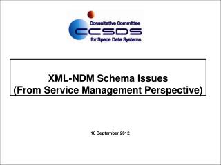 XML-NDM Schema Issues (From Service Management Perspective)