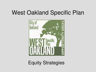 West Oakland Specific Plan