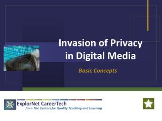 Invasion of Privacy  in Digital Media