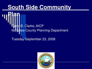 South Side Community Plan