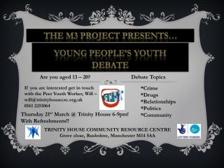 Young people's youth debate
