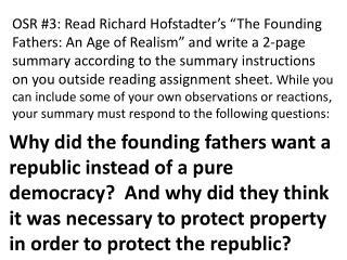Hofstadter OSR Prompt