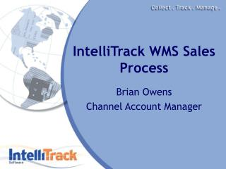 IntelliTrack WMS Sales Process