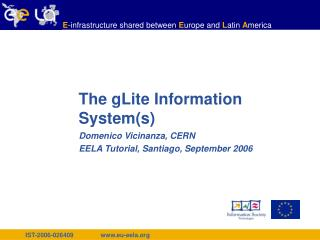 The gLite Information System(s)