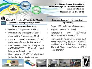Federal University of  Uberlândia  / Faculty of Mechanical Engineering – FEMEC