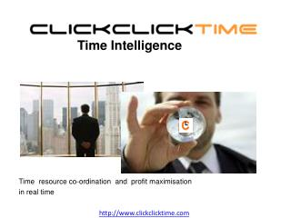 Time  resource co-ordination  and  profit maximisation  in real time