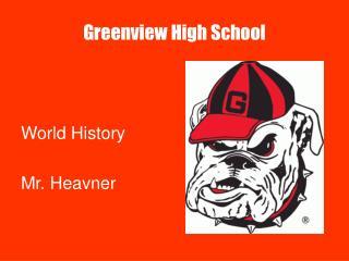 Greenview High School