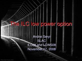 The ILC low power option