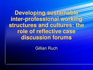 Gillian Ruch