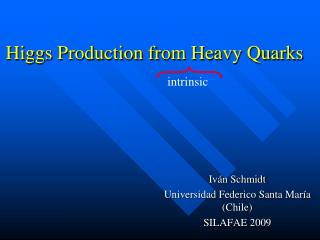 Higgs Production from Heavy Quarks