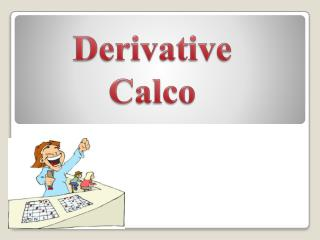 Derivative  Calco