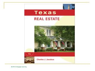 Texas Real Estate Sales Contracts