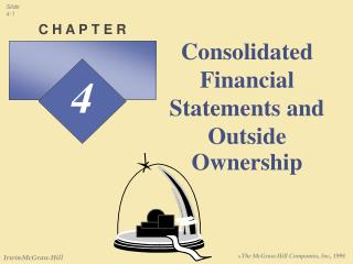 Consolidated Financial Statements and Outside Ownership