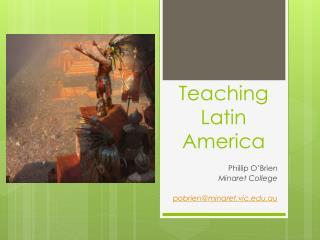 Teaching Latin America