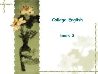 College English book 3