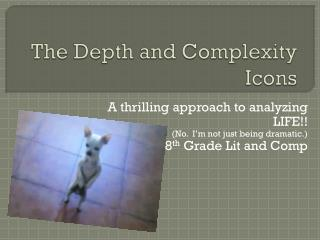 The Depth and Complexity Icons