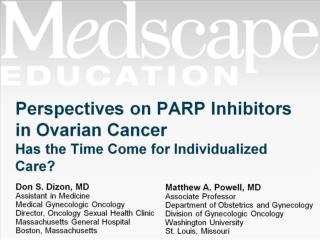 Perspectives on PARP Inhibitors in Ovarian Cancer  Has the Time Come for Individualized Care?