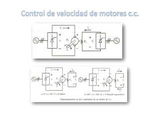 Control de velocidad de motores c.c.