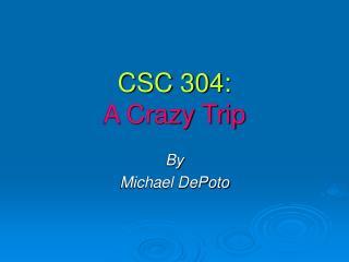 CSC 304: A Crazy Trip