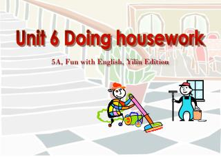 5A, Fun with English, Yilin Edition
