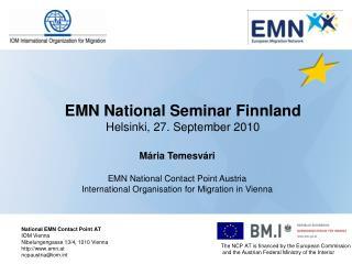 EMN National Seminar Finnland Helsinki, 27. September 2010
