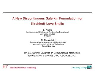 A New Discontinuous Galerkin Formulation for  Kirchhoff-Love Shells