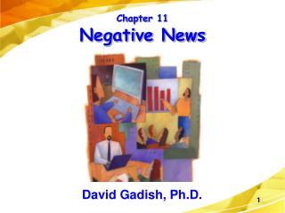 Chapter 11 Negative News