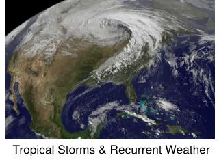 Tropical Storms & Recurrent Weather