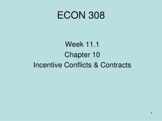 ECON 308