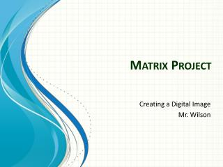 Matrix Project