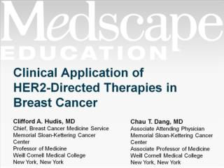 Clinical Application of HER2-Directed Therapies in Breast Cancer