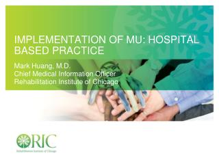 Implementation OF MU: Hospital based practice