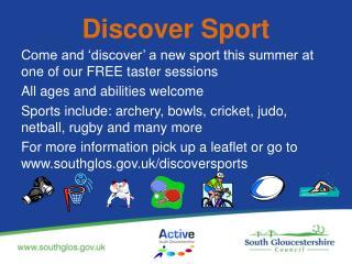 Discover Sport